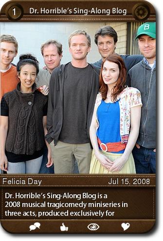 the model of the postmodern hero in dr horribles sing along blog an american drama miniseries No category descargá el catálogo del 34º festival.